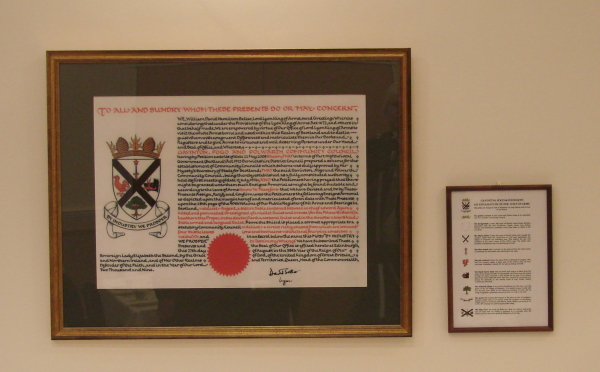 Official Presentation of the Coat of Arms