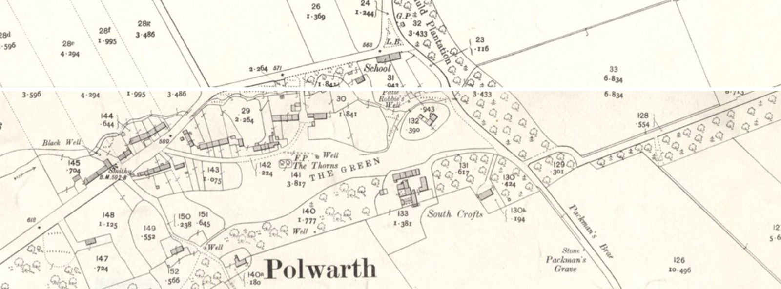 1908 maps