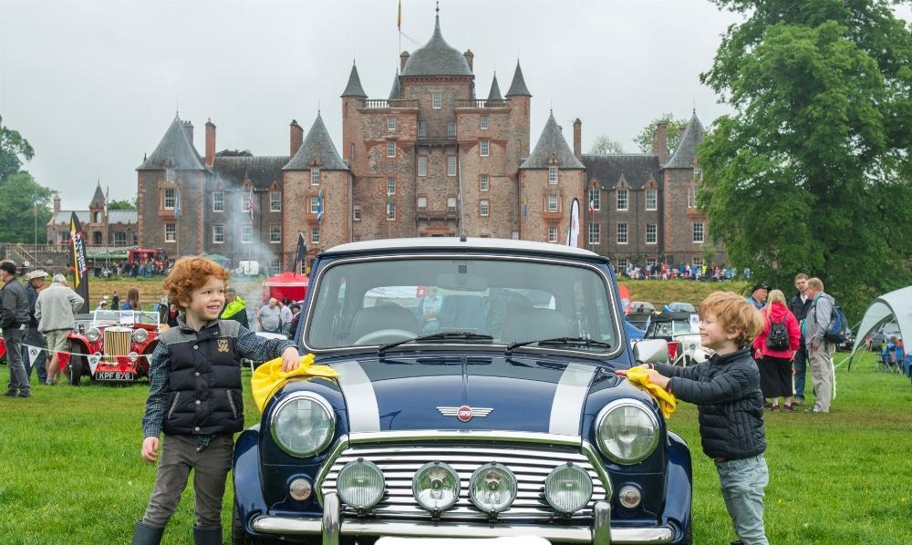 Classic Car Show at Thirlestane on Sunday 2 June