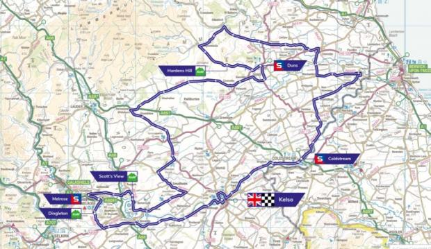 An opening stage of the 2019 Cycling Tour of Britain in OUR AREA