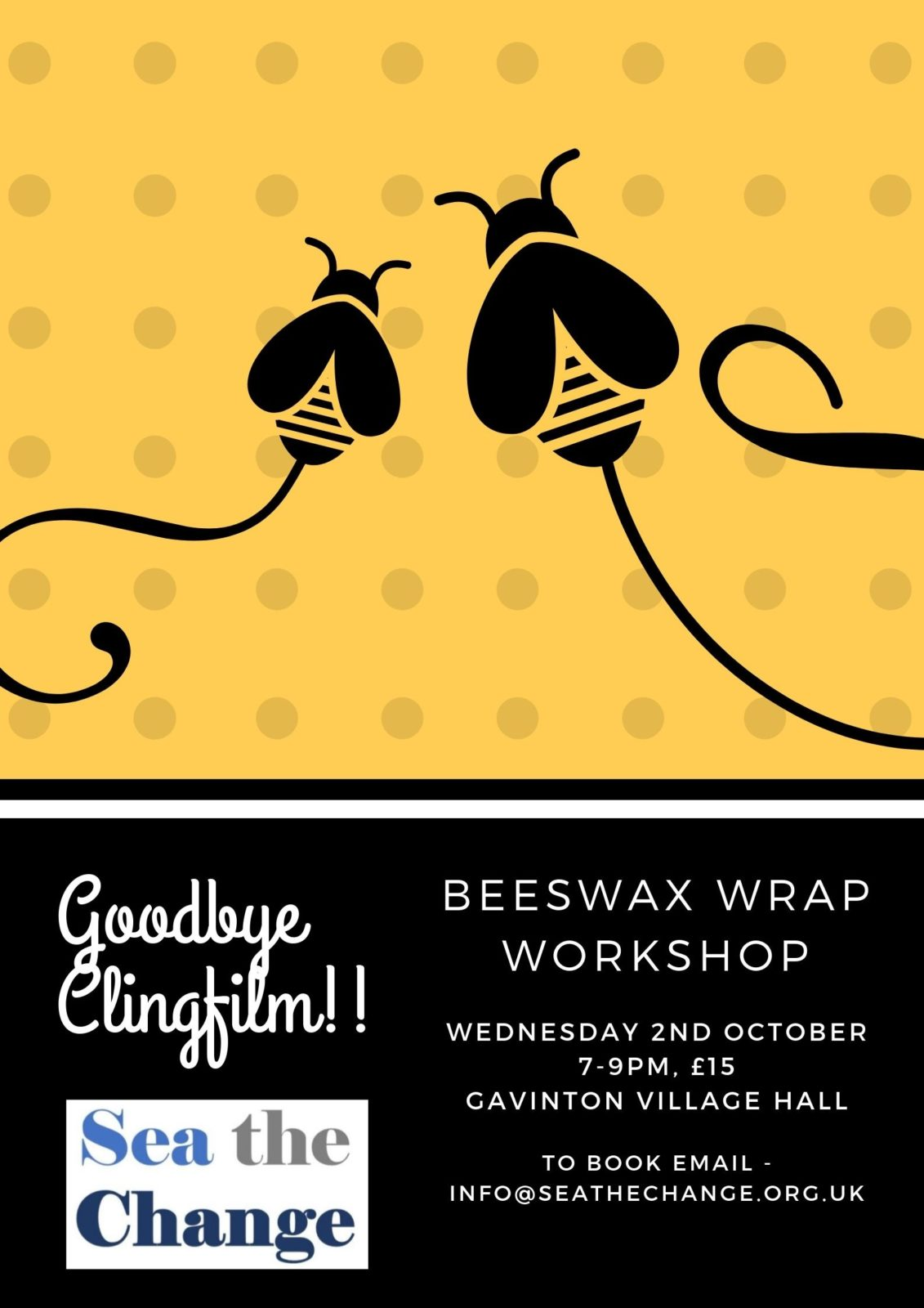 Beeswax Wrap Workshop - village hall