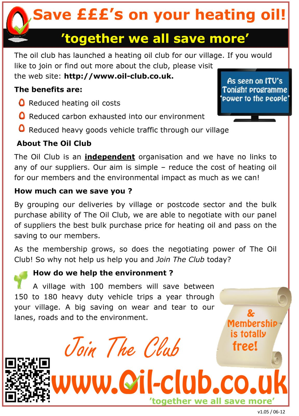 Save on heating oil - The Oil Club