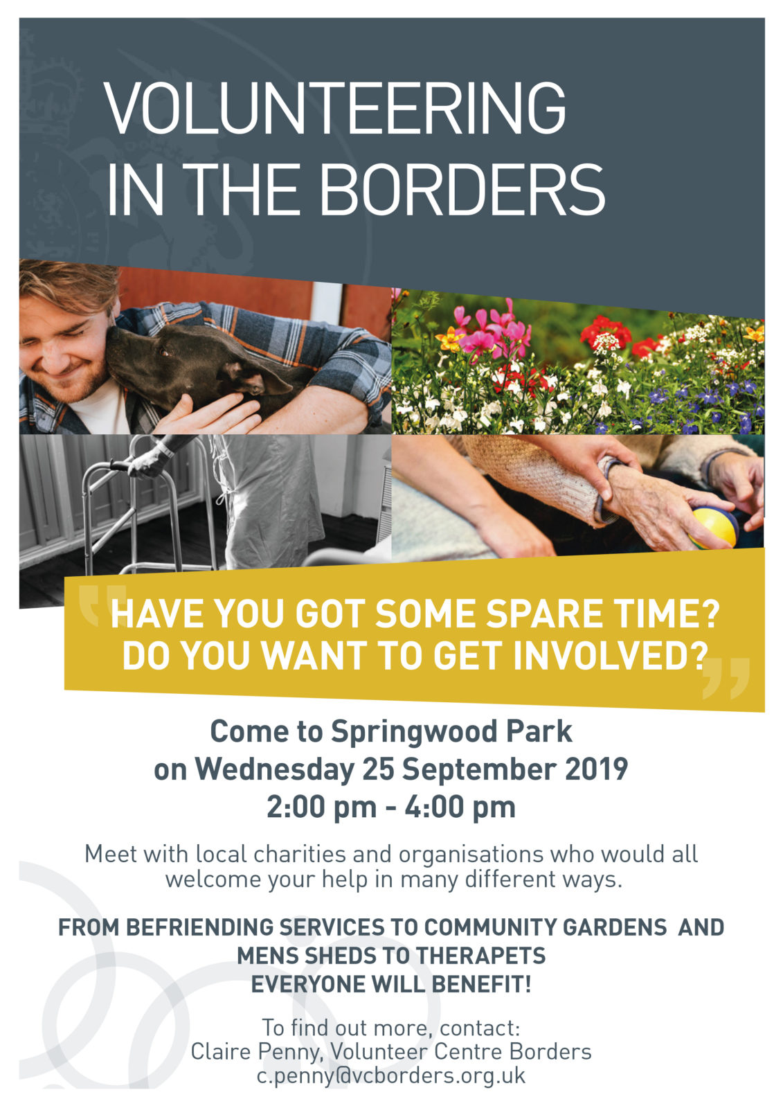 Volunteering in the Borders - Meeting in Kelso on 25 September